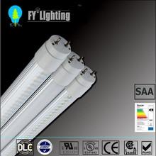 2014 UL cUL DLC LED Glass Tube 120 lm/w 15W 18W 22W 1200MM