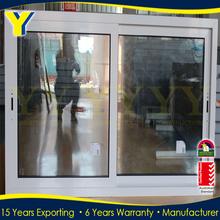 Good quality aluminium standard size with australian standards AS/NZ2047 sliding balcony window