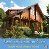 Beautiful design Prefabricated wooden villa prefab log home easy build wooden houses ready made earthquake proof