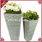 S&D garden flower rectangular plastic plant pots