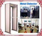 33 zones PD 6500i Enhanced Walk-Through metal detector finds Manufacturer
