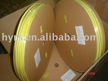 heat shrinkable yellow&green tubing