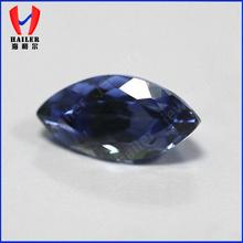 5x10mm Marquise Faceted Cut lab created corundum sapphire