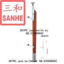 JQ-8157 Wooden Glass Railing