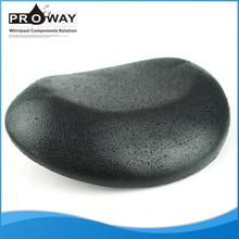 Black PU Plastic Massage Neck Pillow