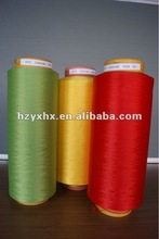 polyester DTY Semi Dull dope dyed yarn
