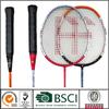 Carbon aluminum badminton racket