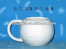 Ball Shape Ceramic Mug