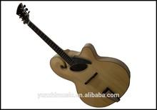 Yunzhi 18 '' totalmente hechos a mano de madera maciza mandolina estilo de jazz de la guitarra