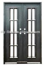 wrought iron door forged iron door