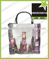 photo printing Vinyl PVC tote bag