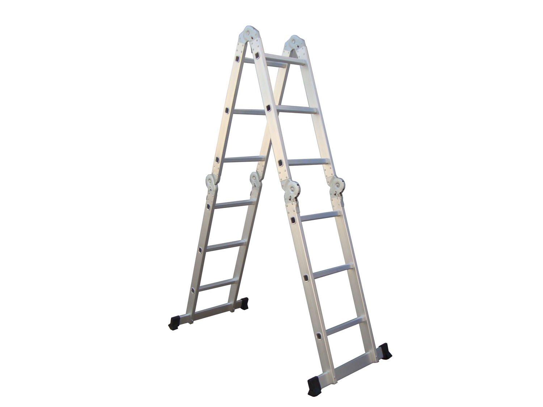 3 7 m plegable escaleras escaleras identificaci n del - Escaleras metalicas plegables ...