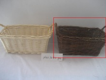 miniature wicker basket with handle (factory supplier)