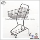 Metallic Grocery Supermarket Trolley, shopping cart