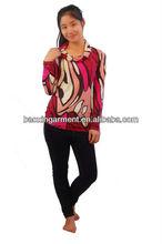 printed fashion lady top