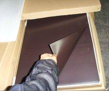 flexible iron sheet,0.3mm thickness,uv coating,glossy vinyl