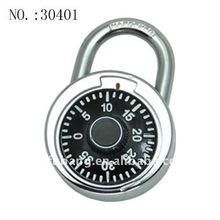 Turning wheel 40 number Round lock colorful combination padlock password lock