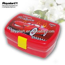 2015 hot selling plastic lunch box BPA free