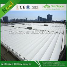 Outdoor Aluminum Sun Louver Shades Shutter /Aluminum sun louver