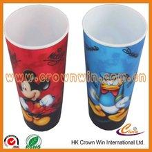 Lenticular plastic cup 3D cup