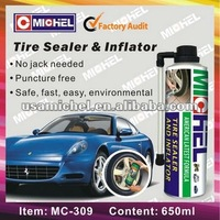 Hot Sell 650ml Tyre Sealer and Inflator, Tyre Repair Spray, For Car Tyres