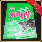 Gusset heat seal plastic bag for dog cat pet food