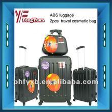 2014China alibaba 2pcs fashion fashion travel cosmetic bag/lady fashion cosmetic bag