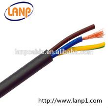 Flexible Rubber PVC Copper 3Core 1.5mm2 Cable H05RN-F