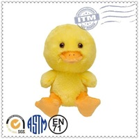 Promotion high quality fashion top selling lovely plush baby duck doll