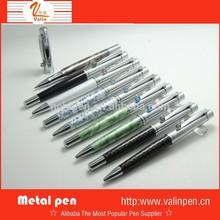 2015 New Design Nice ball pen & Roller pen Metal pen set with your logo