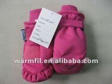 2012 hot sale children's winter ski gloves