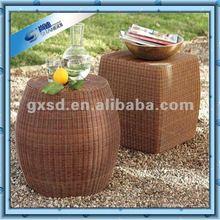 Single Nice Patio Rattan Outdoor Footstools