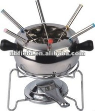 non-stick fondue set,fondue,alcohol fondue set
