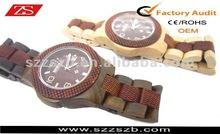 The Best Oak Wooden Watch Hot Sale New Sharp Watch
