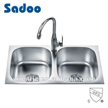 Frank Double Bowl Stainless Steel Sink