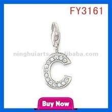 Alphabets Designs Buddha Blanks gold plated jewelry China pendant wholesale