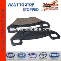 Disc semi-metalic china motorcycle brake pads