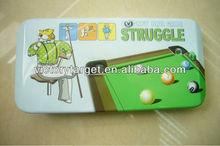 pen tin case/pencil tin box for kid's