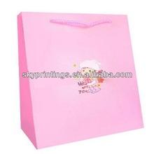 pink attire paper bag