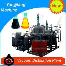 Machinery Waste Engine Ship Oil Filter Machine by Vacuum Distillation