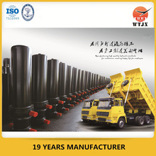 multi stage hydraulic cylinder for construction truck