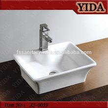 China sanitary ware basin, bathroom ceramic art wash basin white,five star hotel basin