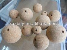 Natural Cork Ball /Fishing cork QBCA03