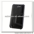 13036A New design flip leather case for samsung galaxy note 2 n7100
