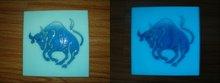 Glow ceramic glaze/glow in the dark glaze/glow tile/Luminous glaze