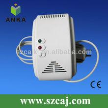 Independent semiconductor sensor domestic gas alarm detector