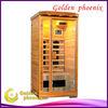 Hot sale infrared sauna cabin G1TP Red 1 person indoor sauna