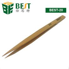 BEST-20 ESD Cleanroom Tweezer Bamboo Tweezer