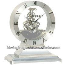 Metal desk clock BYL20B / Table clock