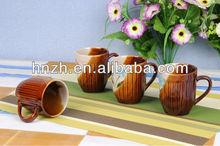 9oz ceramic stoneware handpainted and embossed zebra mug/zodiac ceramic mug